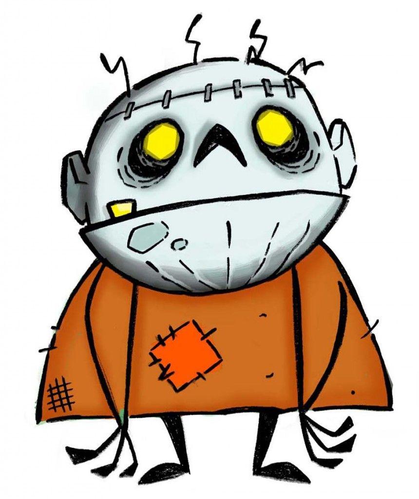 halloween cartoon monsters | VOX POP: Halloween!!! | Le Journal La ...