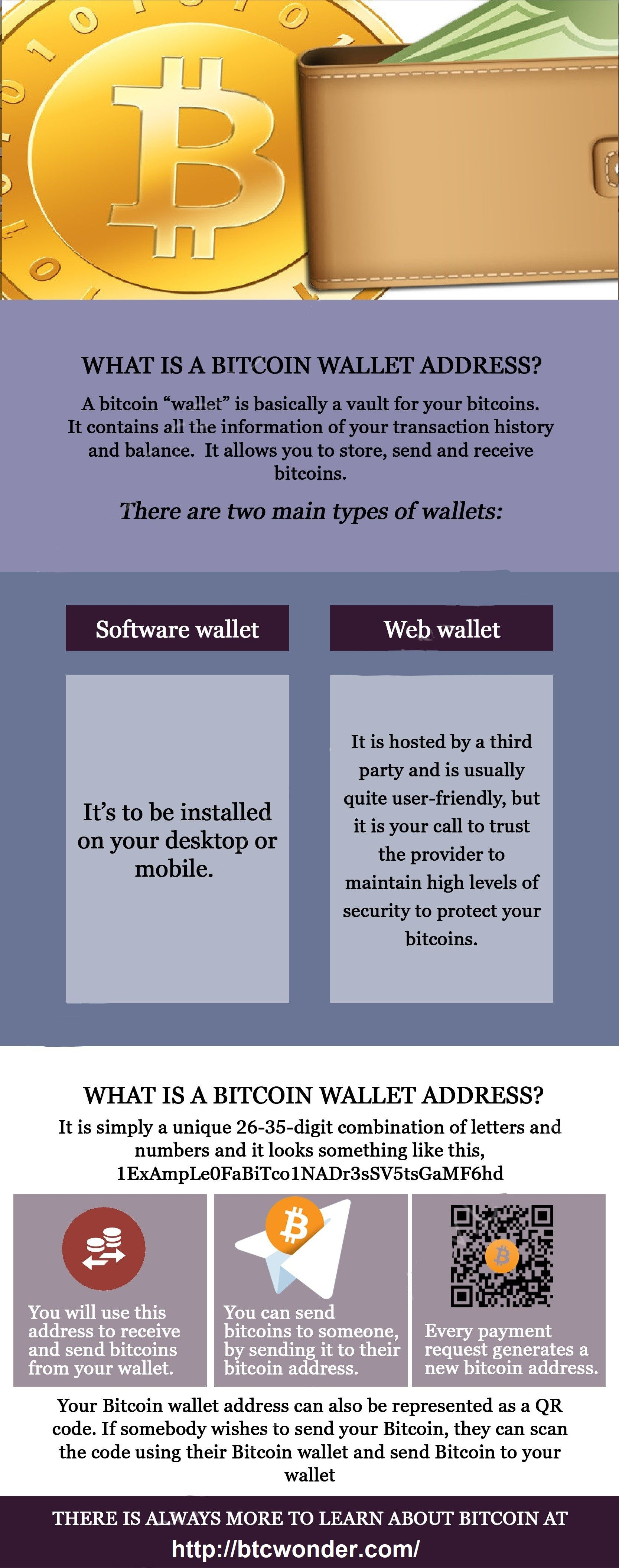 Bitcoin wallet info how to create wallet for bitcoin