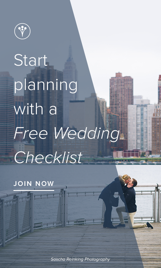 sign up for a free wedding checklist it s super easy and you can