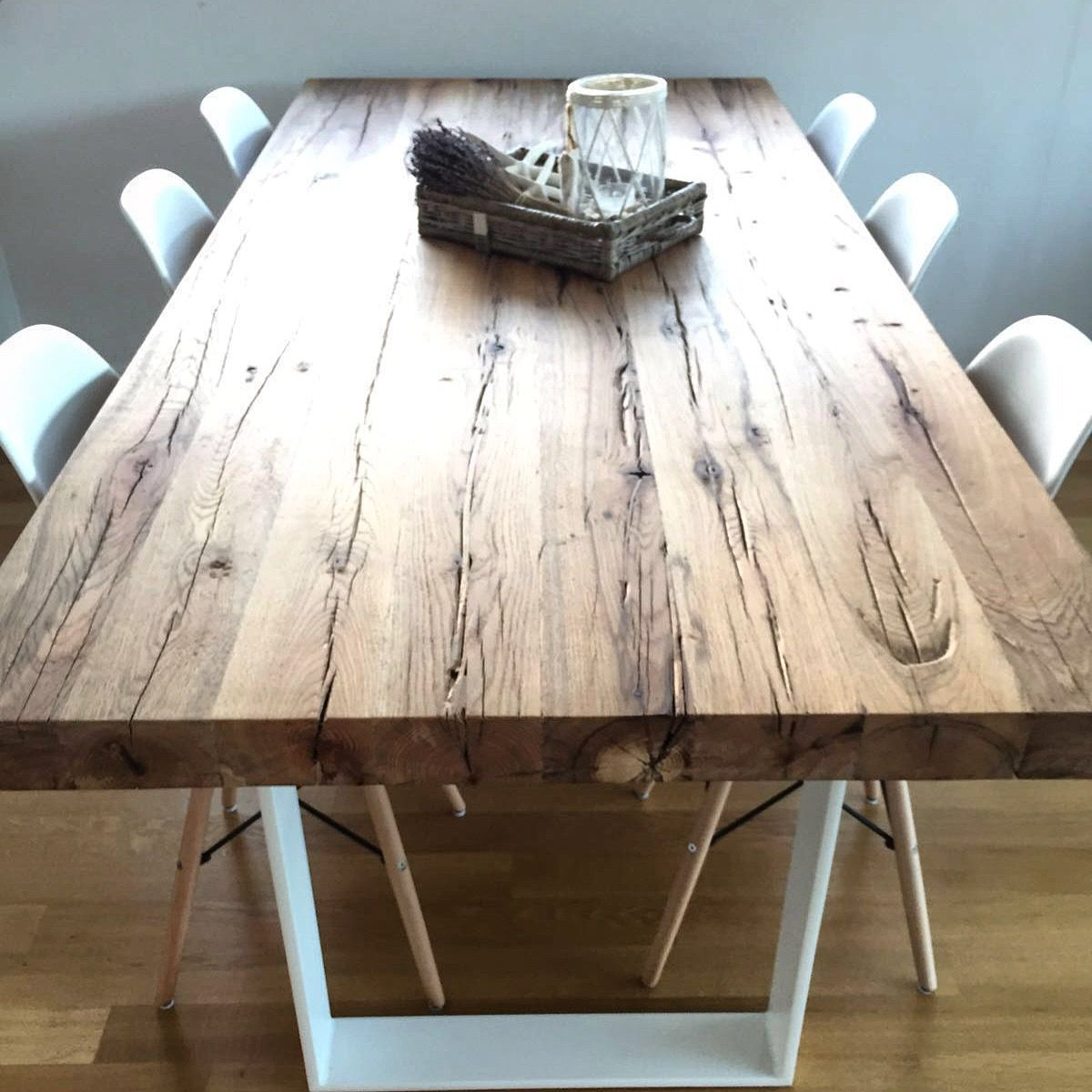 Massivholztisch Esstisch Aus Eichenholz Altholz Www Holzwerk