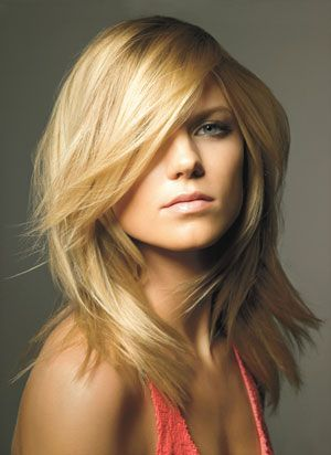Maybe one day I will cut off my hair off..this is what I would probably do :)