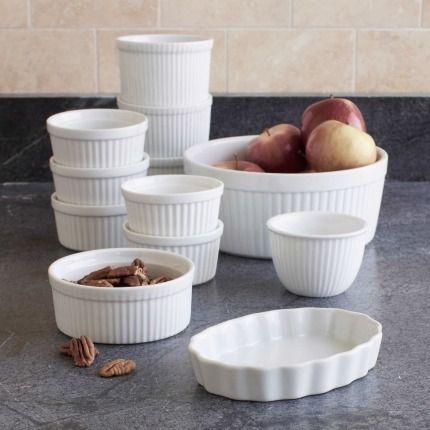 Sur La Table Round Porcelain Ramekin,.