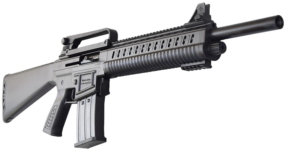 AR-12 Semi Auto, AR-15 Style 12ga Shotgun by Leader Arms of Turkey