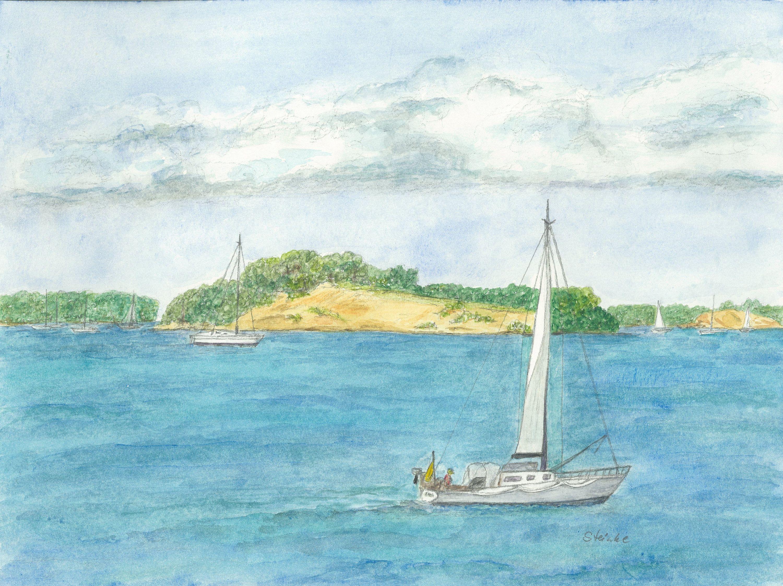 Aquarellmalerei Drucke Auf Aquarellpapier Motive Der Flensburger