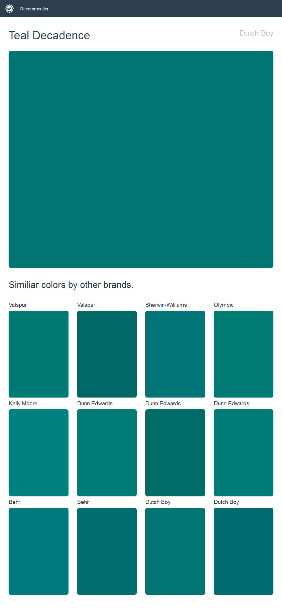 What Color Goes With Teal