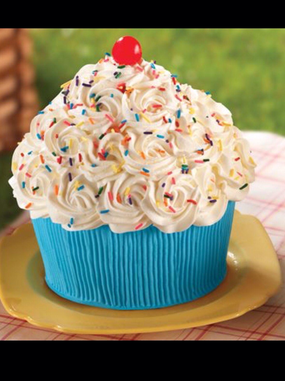 Giant Cupcake Awesomeness