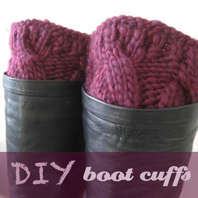 Owlswakeup Diy Knitted Boot Cuffs Free Pattern Ashley Hux Im