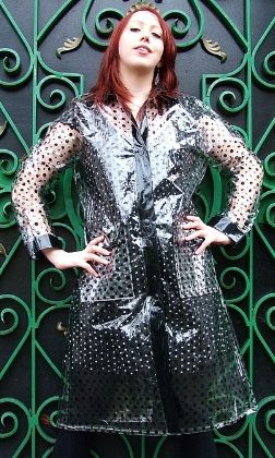 Regenmantel, Jacken, Kleidung, Pvc-regenmantel, Regen Mäntel, Debbie Harry,  Graben, Latex, Vintage Stil b9dcbc3de2