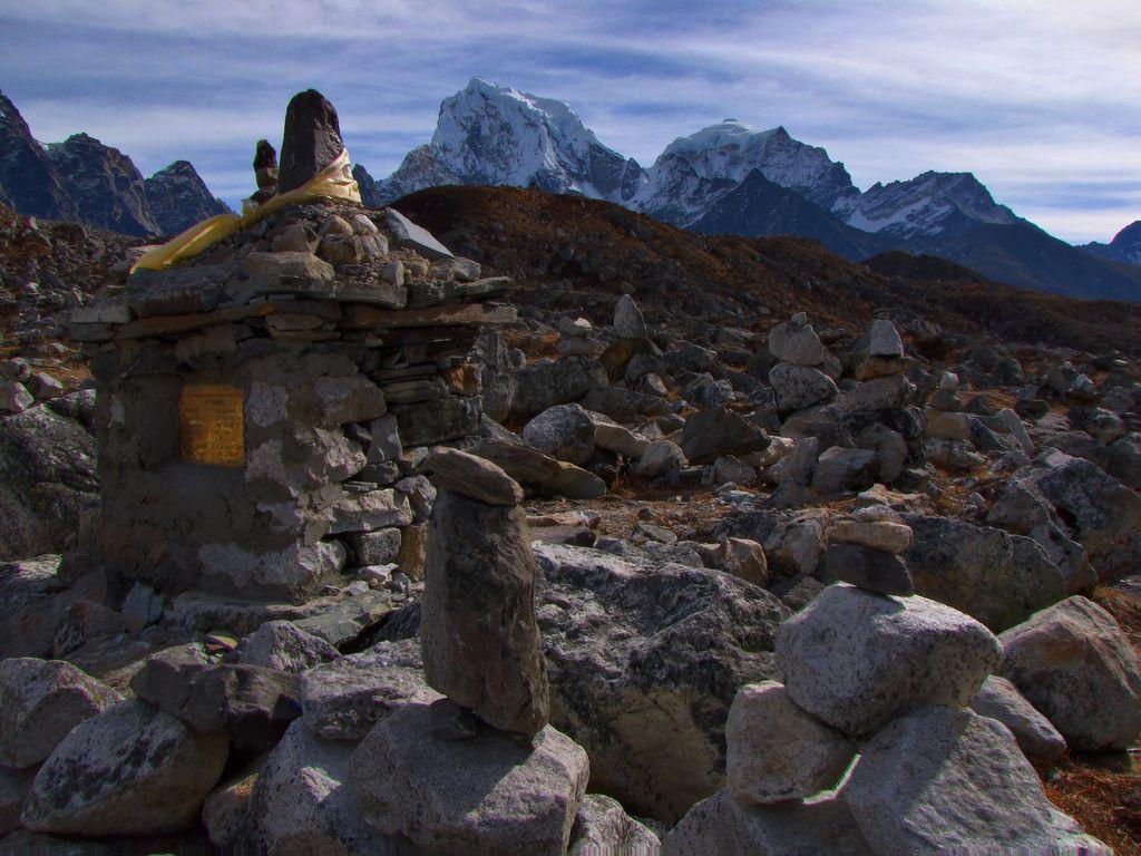 Tawoche-Cholatse-Gokyo Trek-Nepal
