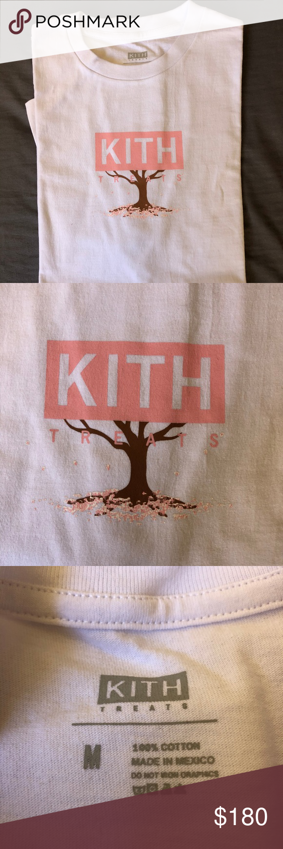 Kith Treats Tokyo The Hanami Tee White Kith Treats Tokyo The Hanami Tee White Kith Shirts Tees Short Sleeve Kith Clothes Design Tees