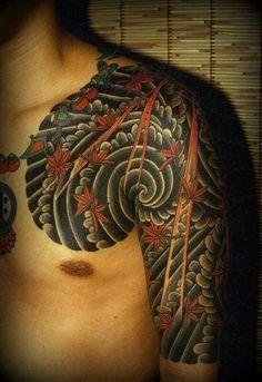 Japanese Wind Bars Google Search Demon Tattoo Sleeve Tattoos Tattoos