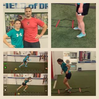 So many new clients at DefyGENETICS but want to give a S/O welcome to Arianna Maria Michniak. She's now on a lengthy training contract to work towards her goals. She's a rising 15 year old Thomas Dale student athlete. She plays soccer for both TDH & Chesterfield United U-15 Elite travel soccer team. She understands she has a lot of work to do. The bottom left pic shows her initial running form & her running form after completing the DefyG101training. It's a long process but she's now apart…