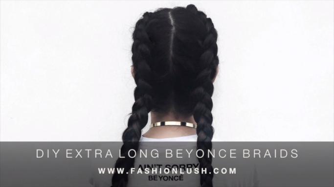 How to Create Beyonce Like Braids
