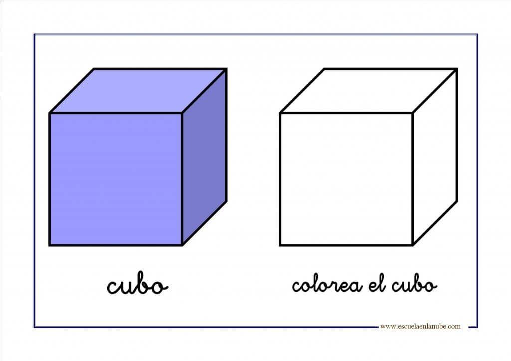 Figuras Geometricas Para Repasar En Infantil Y Primaria Cubos