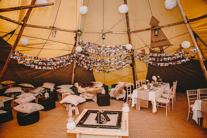 Tipi wedding in derbyshire with vintage elements boho weddings tipi wedding in derbyshire with vintage elements boho weddings junglespirit Image collections