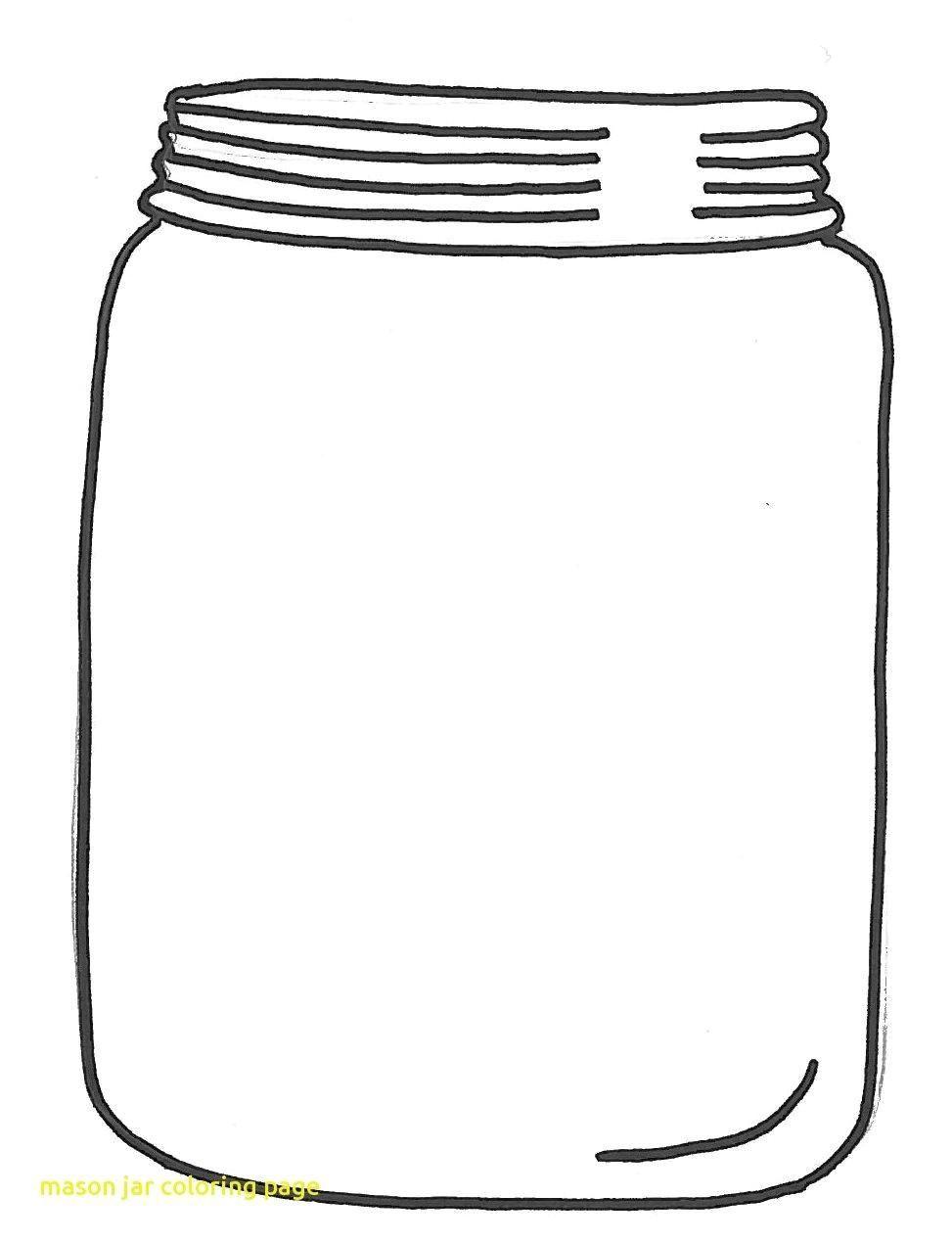 10 Coloring Page Jar Mason Jar Clip Art Colored Mason Jars Coloring Pages