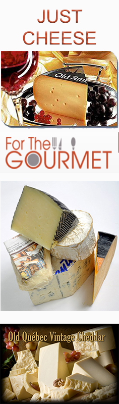 Cheeses from For The GOURMET