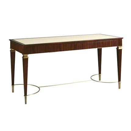 Baker Furniture Paris Writing Table 7888 Thomas Pheasant