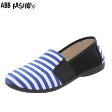 Abb Plus Rozmiar 35 42 Druk Tkanina Bawelniana Kobiety Mieszkania Moda Damska Plotno Plaskie Buty Odkryte Oddy Casual Work Shoes Women Shoes Casual Shoes Women