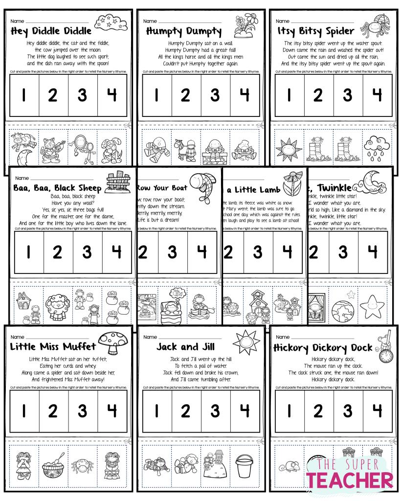Teach Story Retelling With Nursery Rhymes Nursery Rhymes Preschool Activities Nursery Rhymes Activities Nursery Rhymes [ 1024 x 822 Pixel ]