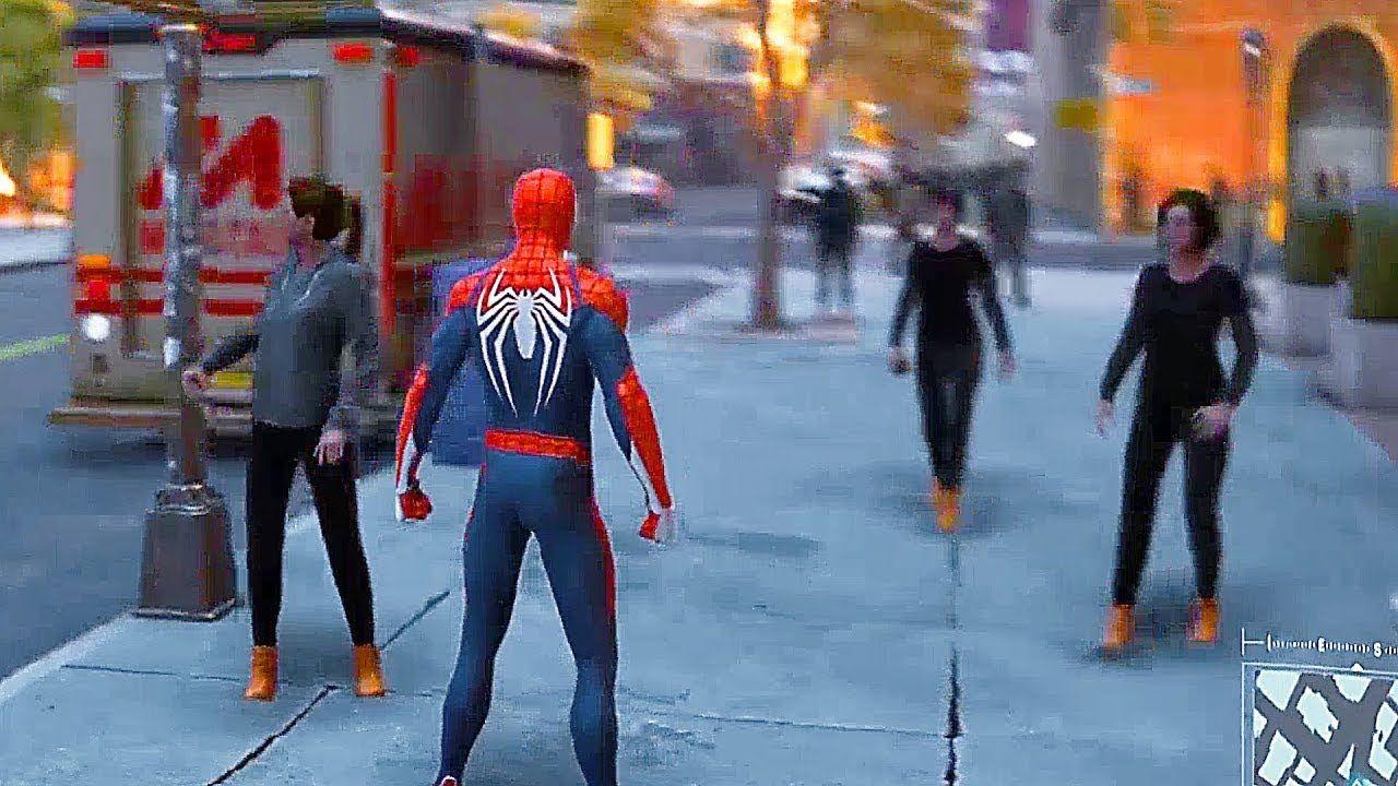 SpiderMan PS4 22 Minutes of Free Roam OpenWorld