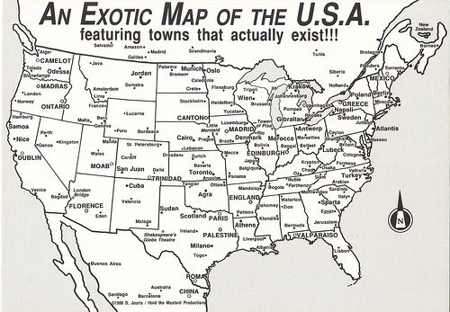 Image result for exotic map of usa | Maps | Pinterest | Moorish