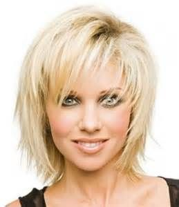 Medium Length Blonde Hairstyles With Bangs For Over Round Face - Hairstyles for round face yahoo