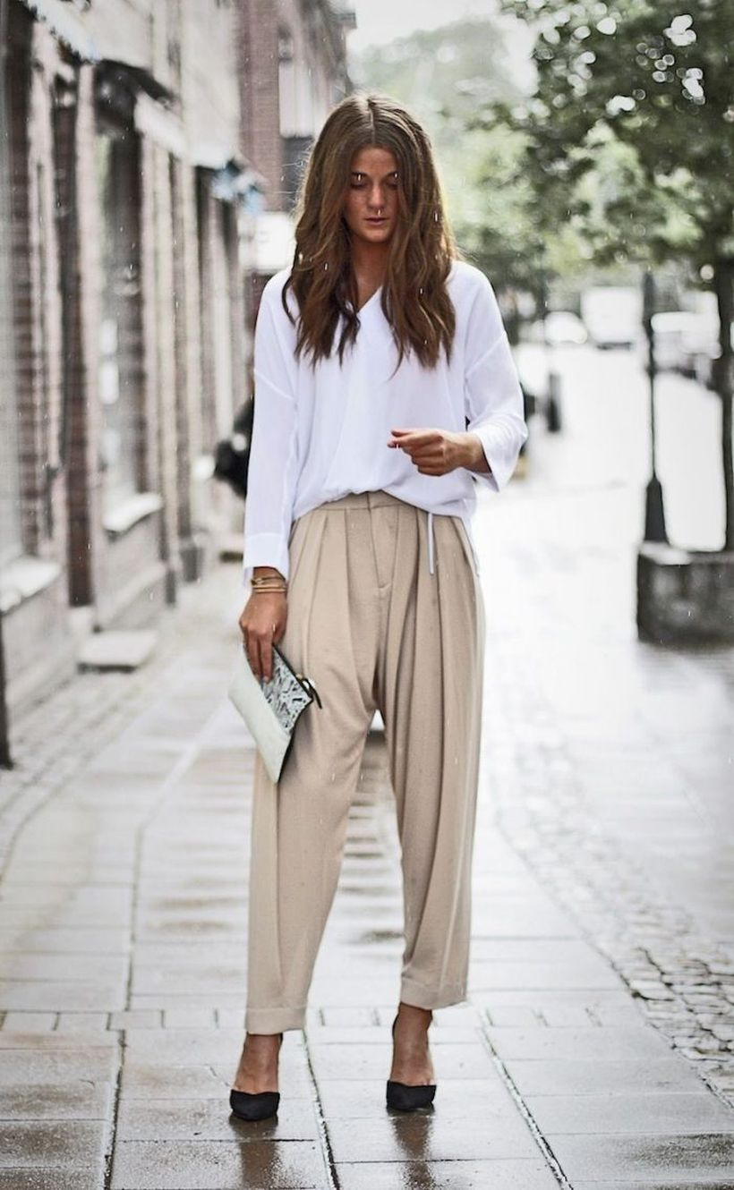 20 Cool and Fabulous Outfit with Oversized Clothes to be Worn for Some Occasion