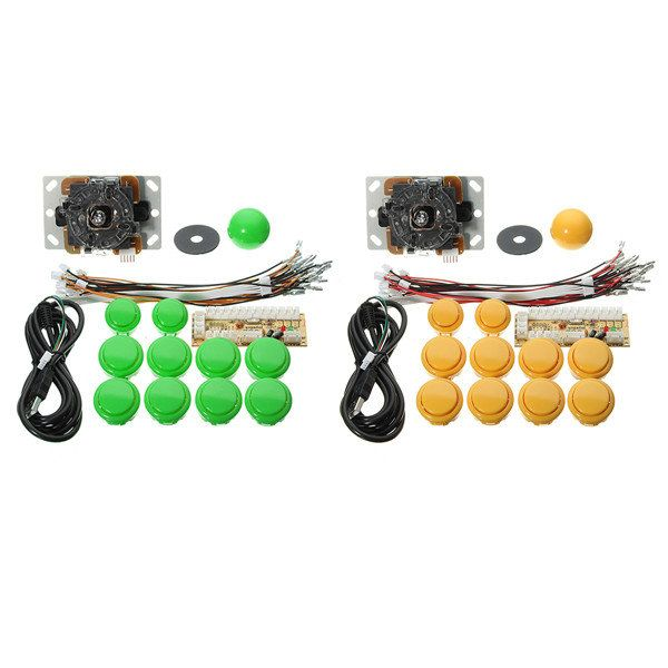 Zero Delay Arcade Game Controller USB Joystick Kit Set for MAME