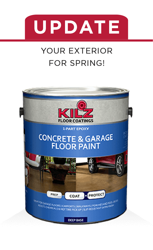 Protect The Concrete Masonry Stone And Brick Surfaces In Your Home With Kilz Concrete And Garage Floor Paint Garage Floor Garage Floor Paint Concrete Garages