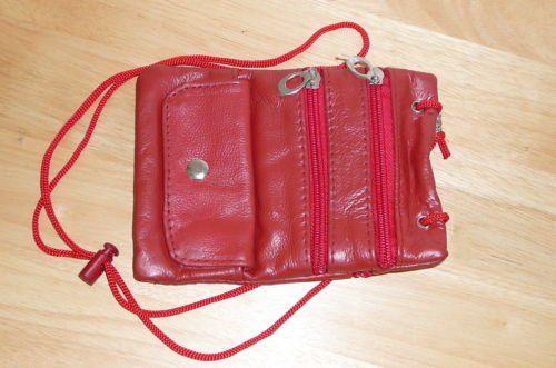 Soft Leather Neck ID/Passport Wallet/... $4.00