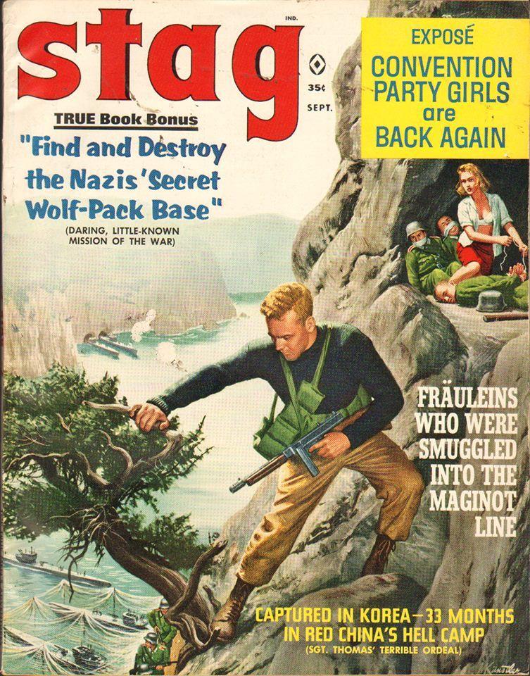 Vintage Men S Adventure Magazines Men S Adventure