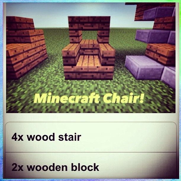 #Outdoor #Wicker #Minecraft Chair Showcased On The