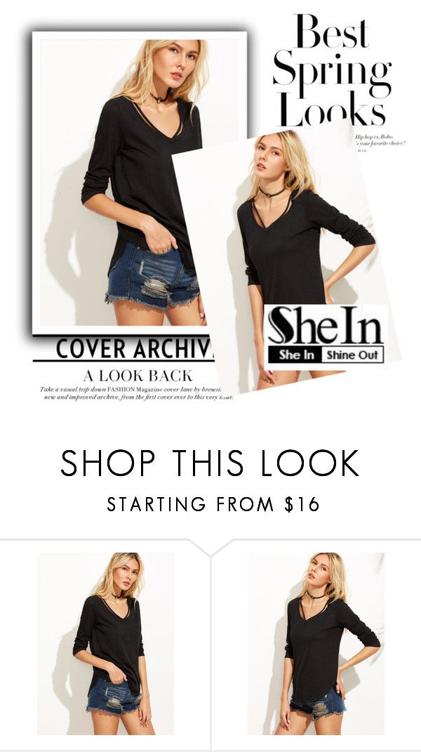 """SheIn Contest"" by januzaserik ❤ liked on Polyvore featuring H&M"