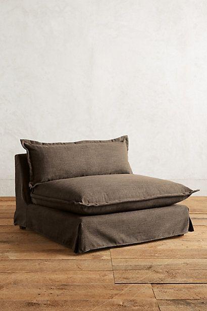 Basketweave Linen Tassa Chair