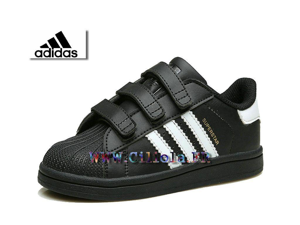 superstar noir enfant adidas
