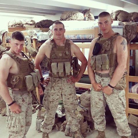 Hot army boys