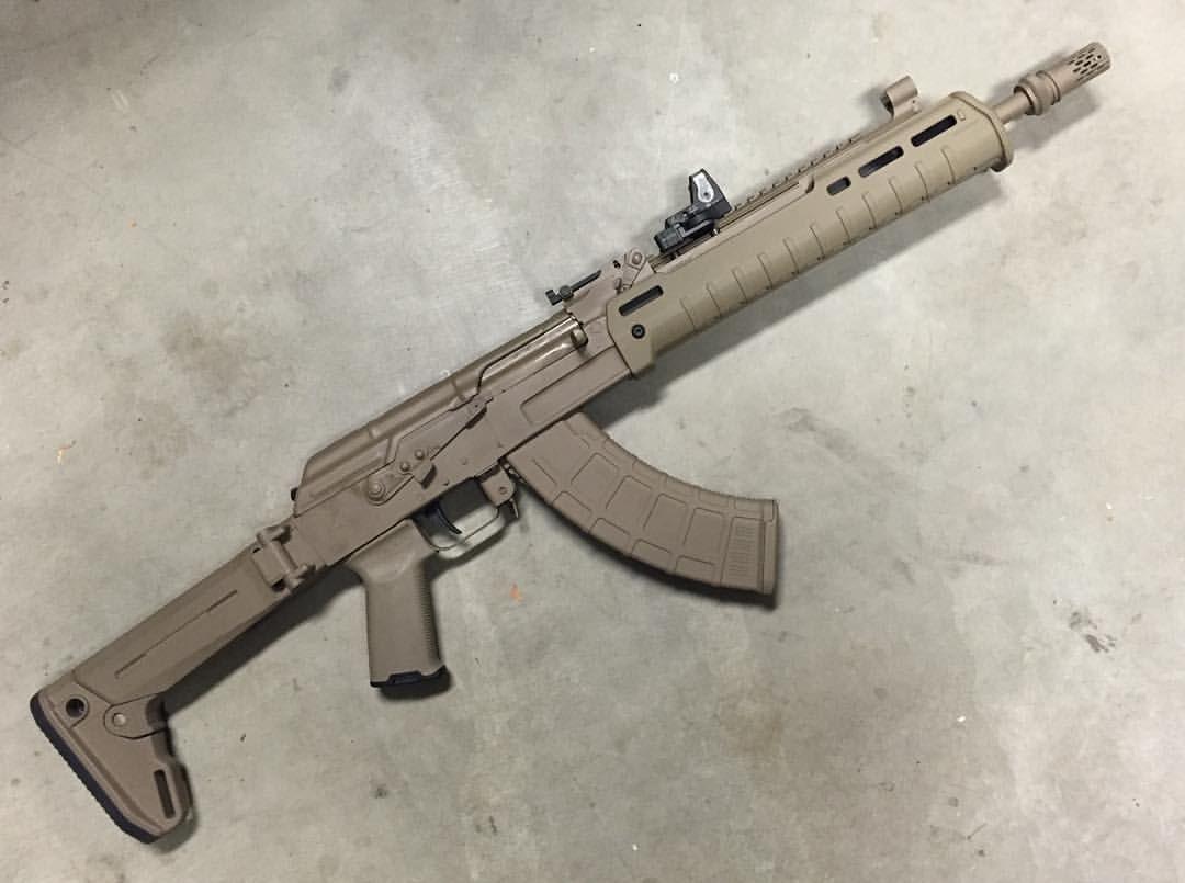 Facelift for a Bulgy Arsenal AK courtesy of LRK Mechanical