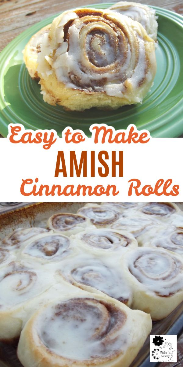 Double Batch of Amish Cinnamon Rolls - Delightful!