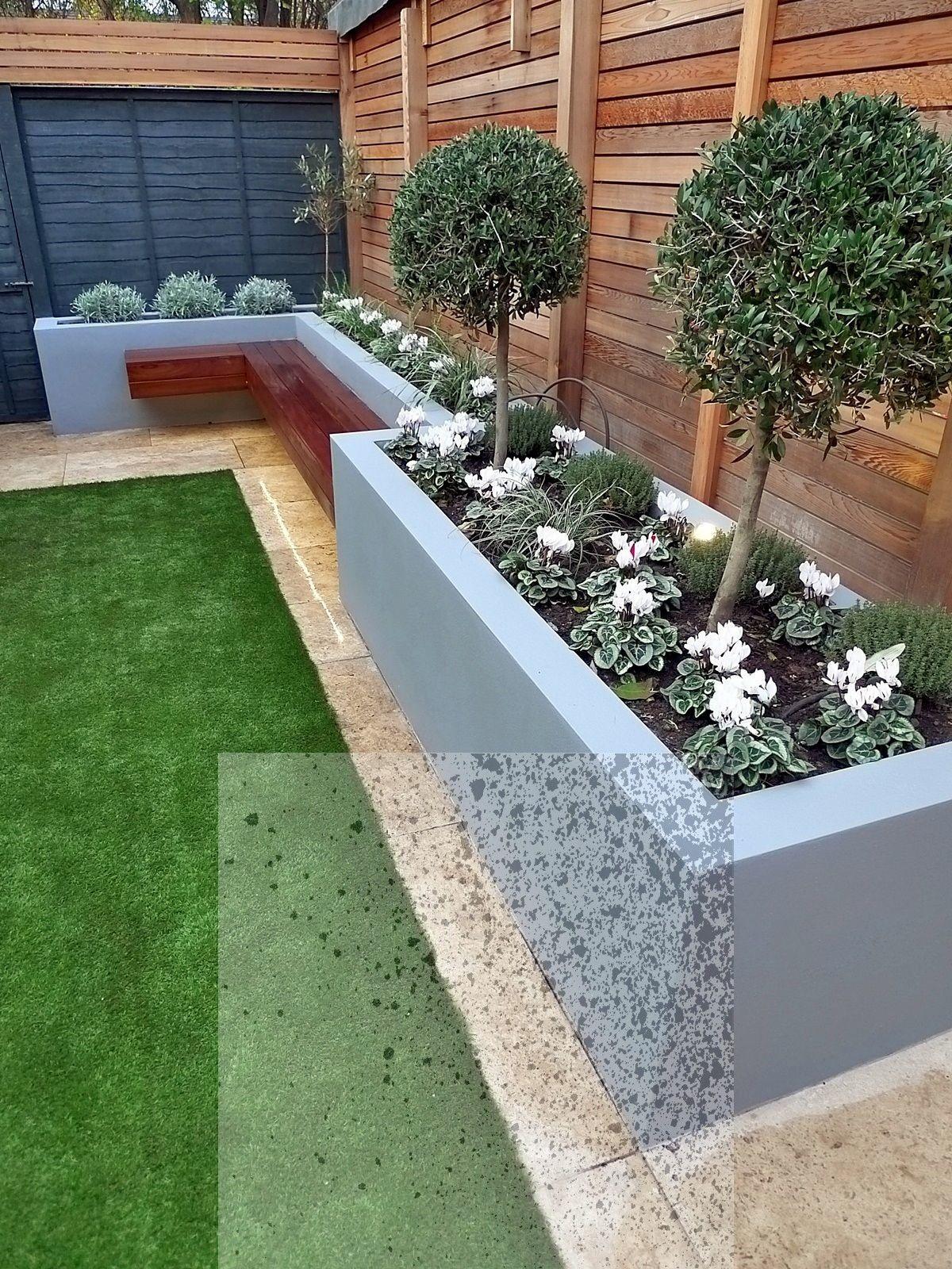 13 Superb Plants Outdoor Low Maintenance Ideas Modern Garden Design Back Garden Design Backyard Landscaping Designs
