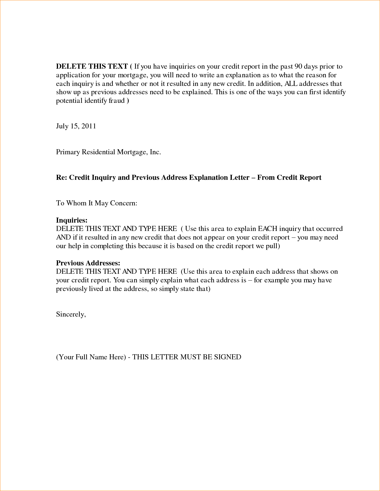 Letter of explanation sample attn business letter construction credit explanation letter sample pictures pin formal thecheapjerseys Images