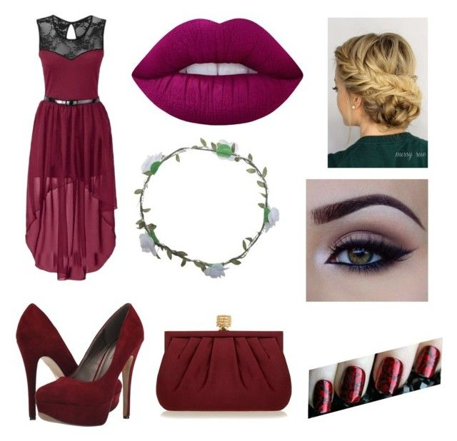 """""""Untitled #398"""" by juneisbest ❤ liked on Polyvore featuring Lime Crime, Wet Seal, Michael Antonio, Wilbur & Gussie and Masquerade"""