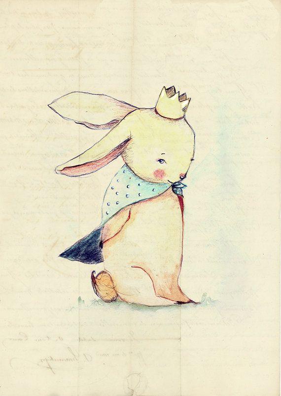 Принц кролик в картинках