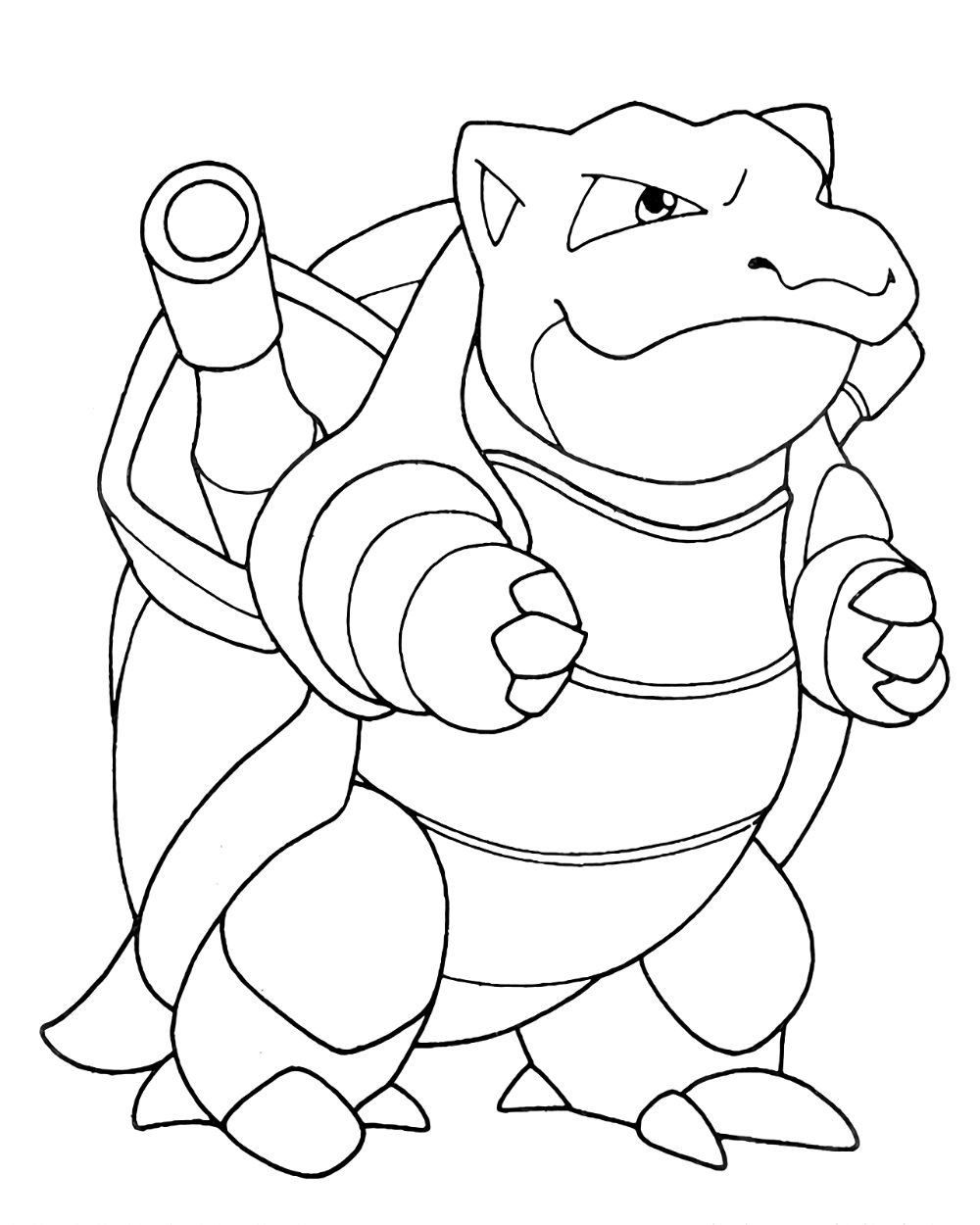 Blastoise Coloring Pages Pokemon Coloring Pages Pokemon Coloring Coloring Pages