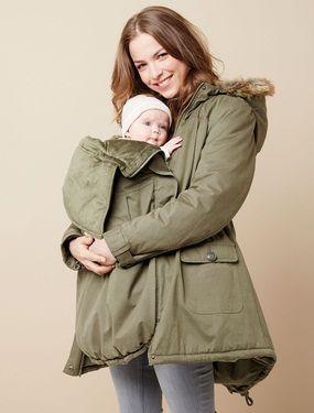 Winterjacke mit einsatz fur schwangere