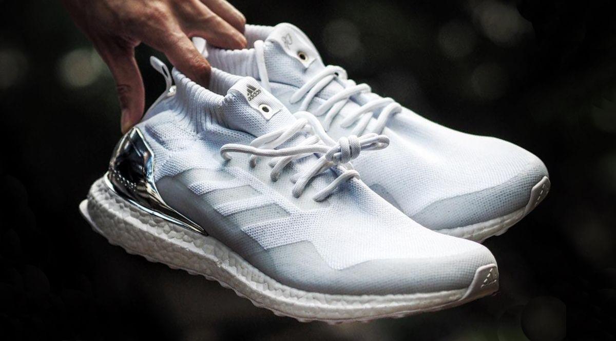 """Ronnie Fieg x Adidas Ultra Boost Mid """"White/Silver"""""""