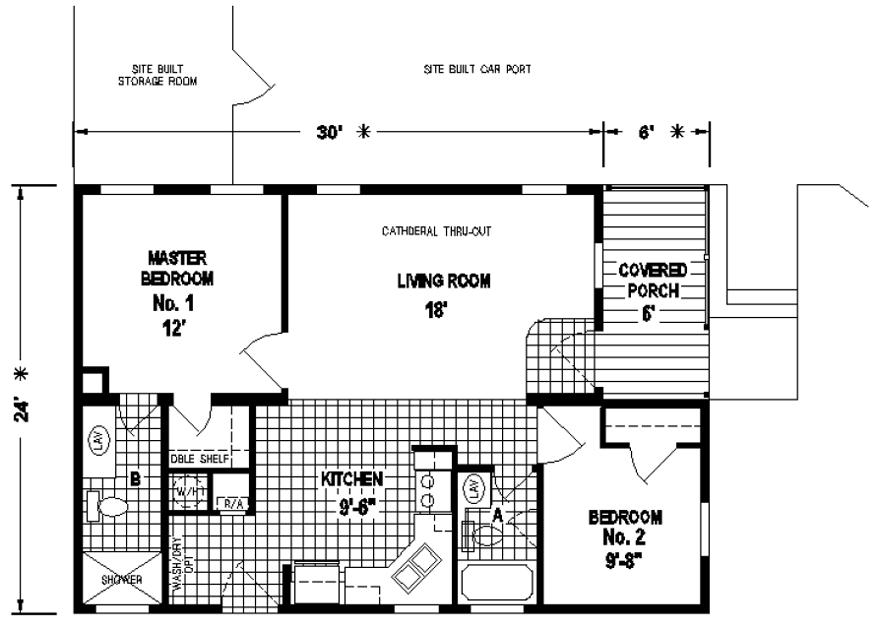Lamont Factory Select Homes Mobile home, House
