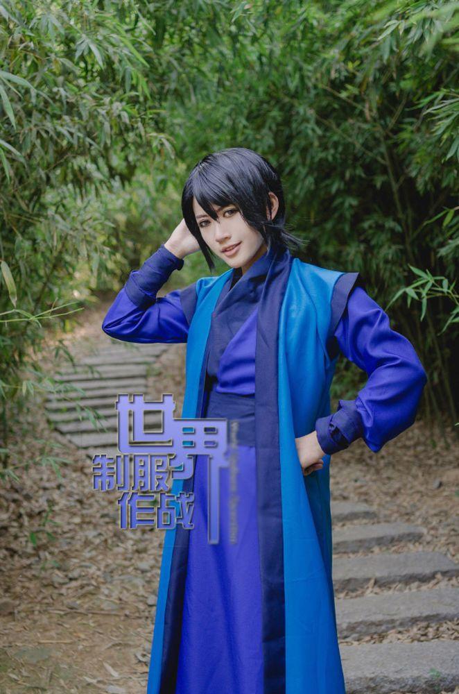 Hot! Akatsuki no Yona Son Hak Cosplay Costume Free shipping HH.080