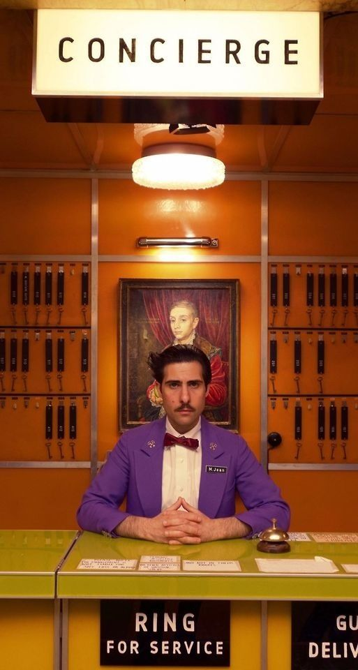Grand Budapest Hotel by Wes Anderson (2014)