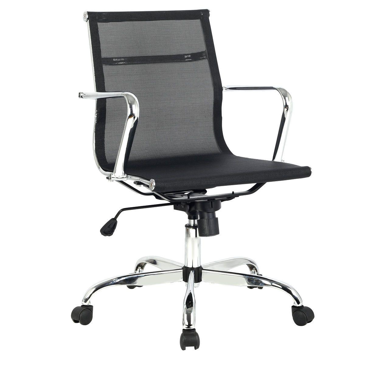 Modern Ergonomic Mesh Mid Back Executive Computer Desk Task Office